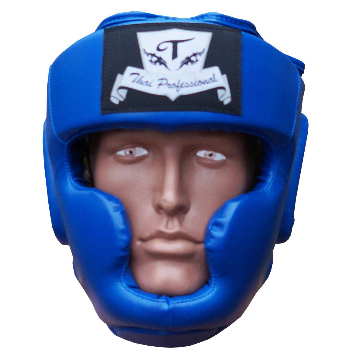 Шлем боксерский для тренировок Thai Professional HG3L BLUE