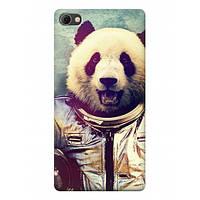 Чехол Meizu U20 - Панда космонавт