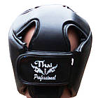 Шлем боксерский Thai Professional HG2T Black, фото 3