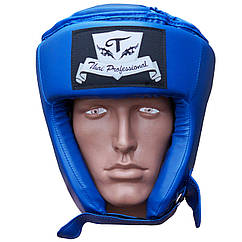 Шолом боксерський Thai Professional HG2T Blue