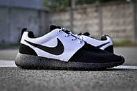 Кроссовки мужские Nike Roshe Run Black-White