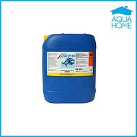 Химия для бассейна активный кислород жидкий Delphin 22 кг