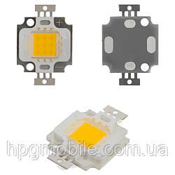 Светодиодный модуль COB LED 10 Вт (теплый белый, 1000 лм)