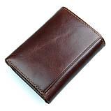 Кожаный вместительный кошелек R-8105Q, фото 2