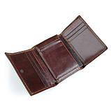 Кожаный вместительный кошелек R-8105Q, фото 3