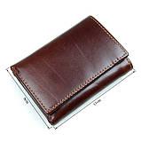 Кожаный вместительный кошелек R-8105Q, фото 7