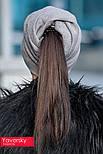 Женская стильная шапка из ангоры (3 цвета), фото 4