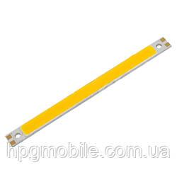 Светодиодный модуль COB LED 10 Вт (теплый белый, 1050 лм)