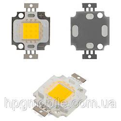 Светодиодный модуль COB LED 10 Вт (теплый белый, 800 лм)