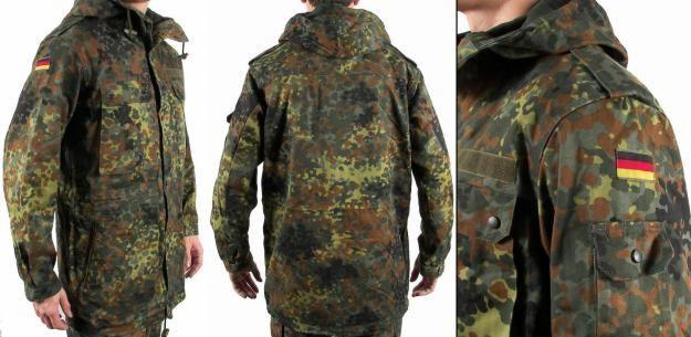 Куртка-парка полевая Бундесвера (камуфляж флектарн) б/у Gr3