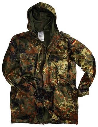 Куртка-парка полевая Бундесвера (камуфляж флектарн) б/у Gr3, фото 2