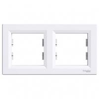 Рамка 2 поста, белый, EPH5800221 Schneider Asfora