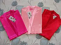 Женские халаты атласные. Турция.