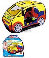 Большая детская палатка M 2497 Спортивная машина