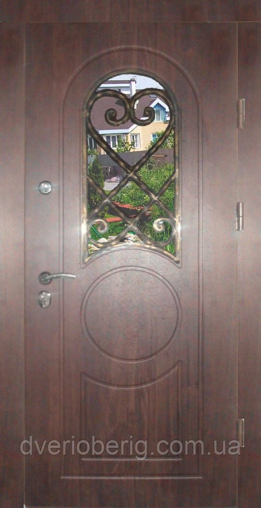 Входная дверь модель П5 209 vinorit-37 КОВКА