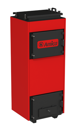 Угольный твердотопливный котел Amica Time С 36 кВт угольный, фото 2