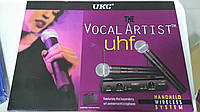 Микрофон UKC Sm58 -Vocal Artist  радиосистема 2 микр. кейс