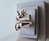 Кольцо  женское серебряное Ручка и Ножка Младенца КЦ-19 Б, фото 3