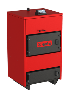 Дровянной твердотопливный пиролизный котел Amica Pyro 35 кВт