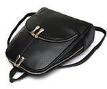 Рюкзак жіночий міський Maria з кишенею (синій), фото 4