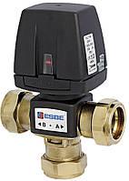 "ESBE VZC 161 (Rp 3/4"" DN20 Kvs 6,5) 3-ходовой клапан с электроприводом"