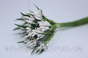 Тычинки острые белые, 10 веточек в наборе