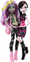Набор кукол Монстр Хай Дракулаура и Моаника Д´Кей Monster High Welcome to Monster High Monstrous Rivals