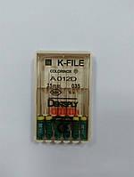 К-файлы (K-file) 6 шт Maillefer  35 (25 мм)