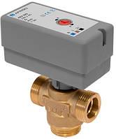 """Трехходовой клапан Afriso AZV 642 (G 3/4"""" DN15 KVs 8,0) с электроприводом"""