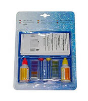 Тестерная аптечка для измерения pH и хлора