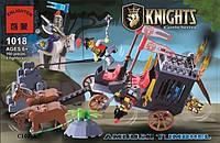 """Конструктор BRICK 1018 (30) Рыцари """"Освобождение короля"""" 160 дет, в коробке"""