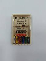 К-файлы (K-file) 6 шт Maillefer  15-40 (25 мм)