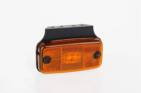 Фонарь светодиодный габаритный боковой Fristom FT-019 Z+K (оранжевый), фото 2