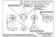 Фонарь светодиодный контурный передне-задний WAS 139L (левый), фото 3