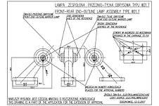 Фонарь светодиодный контурный передне-задний WAS 140L (левый), фото 3