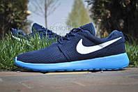 Кроссовки мужские Nike Roshe Run Blue Style