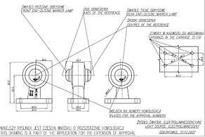Фонарь светодиодный контурный передне-задний WAS 134L (левый), фото 3