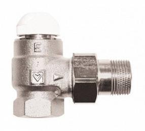 """Термостатический клапан Herz-TS-E угловой 1/2"""""""