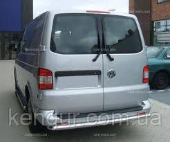 Защита заднего бампера Volkswagen Transporter T 5