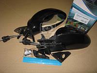 Зеркало боковое, ВАЗ 2108-09, черное 3301-09, 2шт