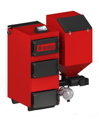 Угольный котел Amica Green Eco 100 квт автомат, фото 2