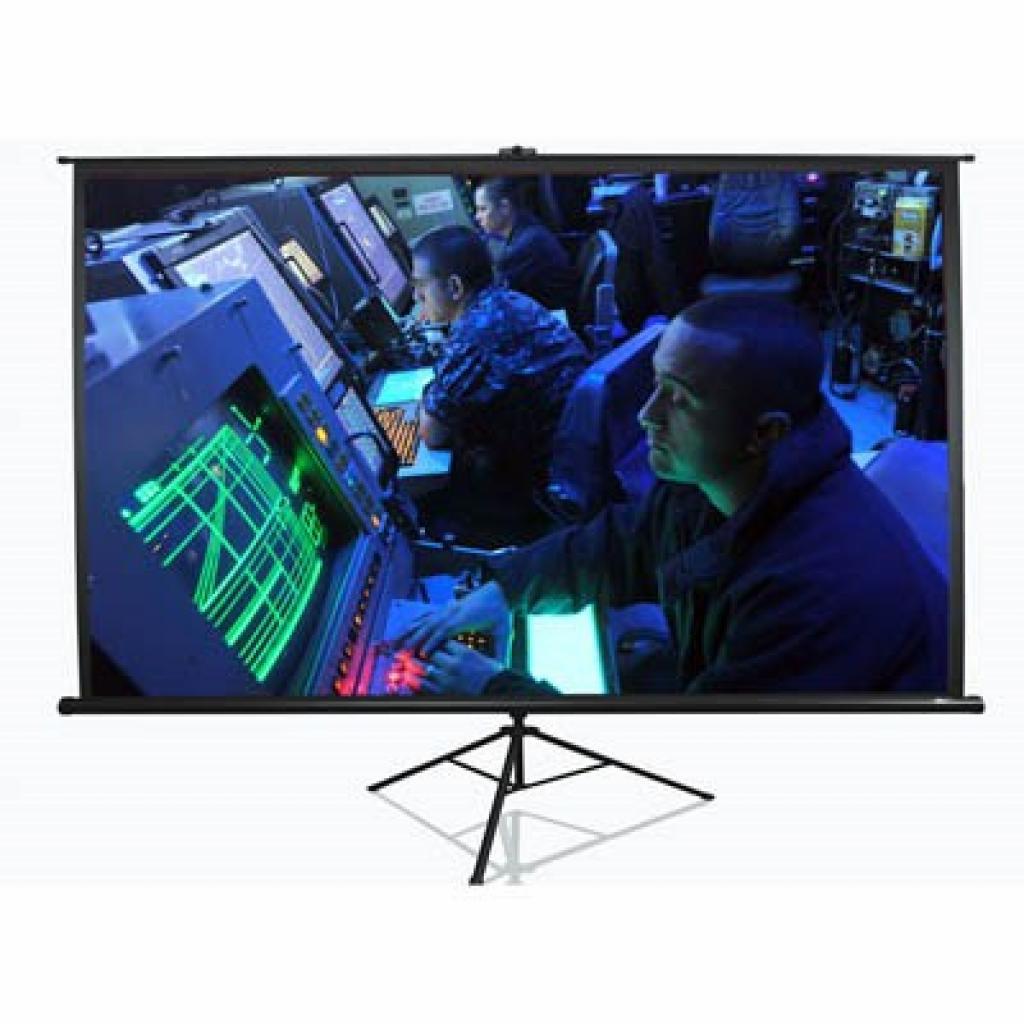 Elite Screens мобильный напольный 120 (16:9) 266.7 х 150.1 (T120UWH) Black Case