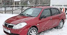 Вітровики вікон Рено Симбол (дефлектори бокових вікон Renault Symbol)