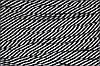 Шнур плоский 15мм (100м) черный+белый