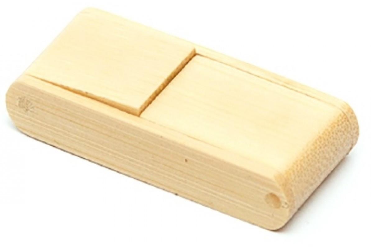 Оригинальная деревянная флешка Загадка