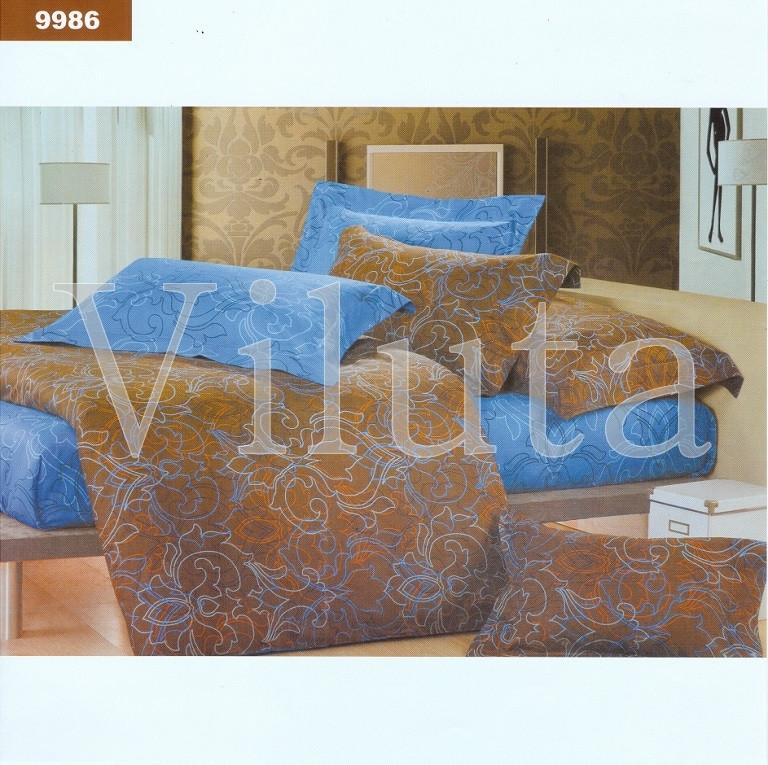 Постельное белье Вилюта ранфорс двухспальный 9986