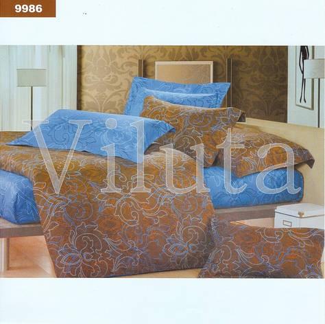 Постельное белье Вилюта ранфорс двухспальный 9986, фото 2