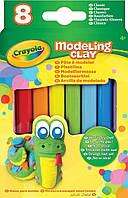 Пластилин не засыхающий 8 классических цветов, Modeling Clay, Crayola