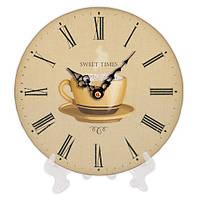 Часы для дома настольные с принтом 18 см