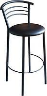 """Высокий барный стул """"Маркос"""" хокер черный"""
